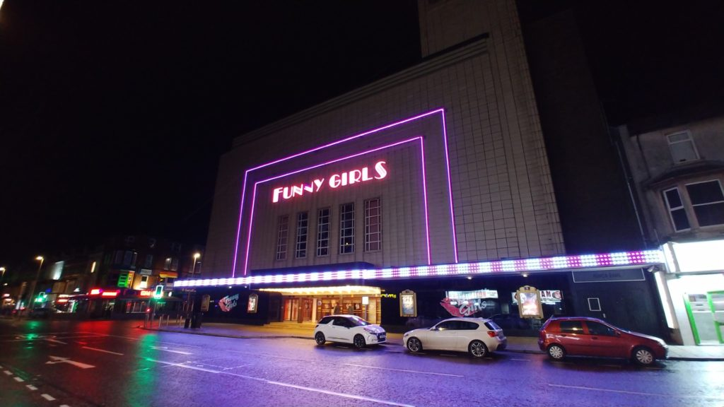 Funy Girls in Blackpool