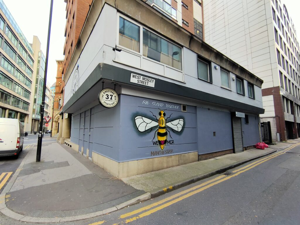 Manchester Bee on West Mosley Street