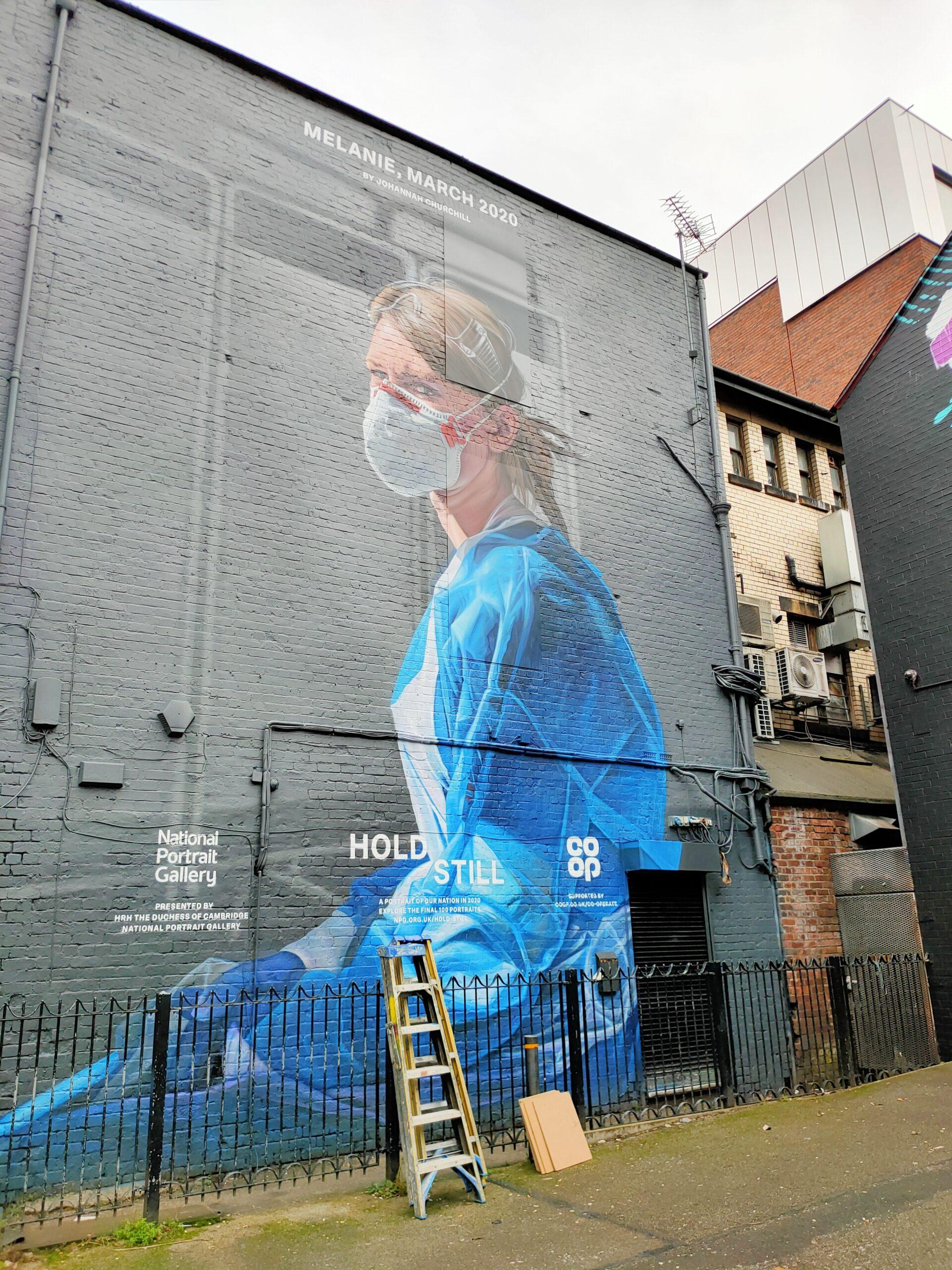 NHS Nurse Mural