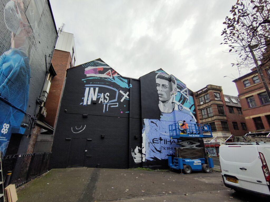 Manchester City Mural