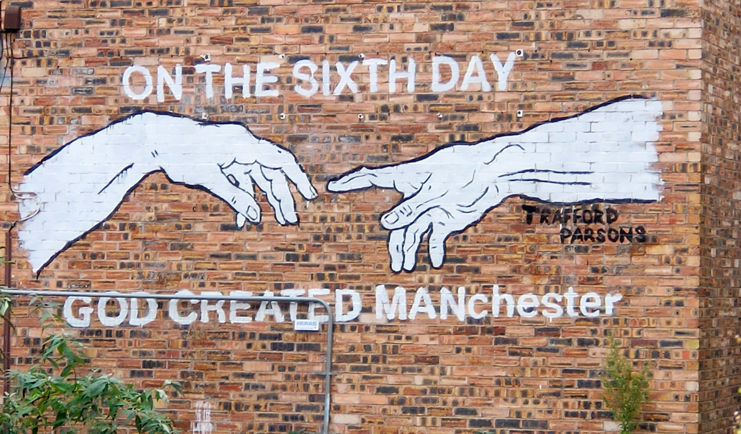 on the 6th day god created manchester