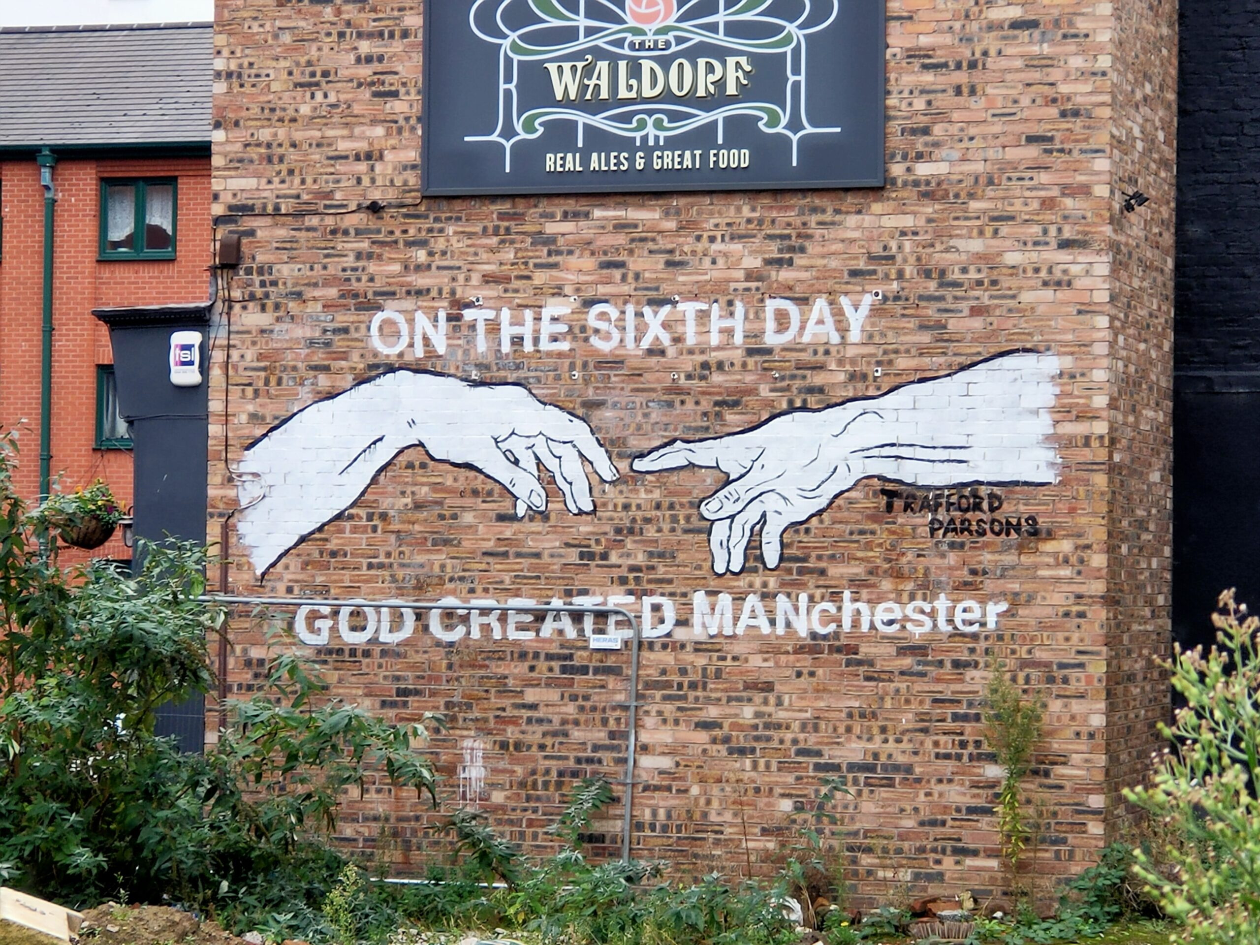 on the sixth day god created manchester