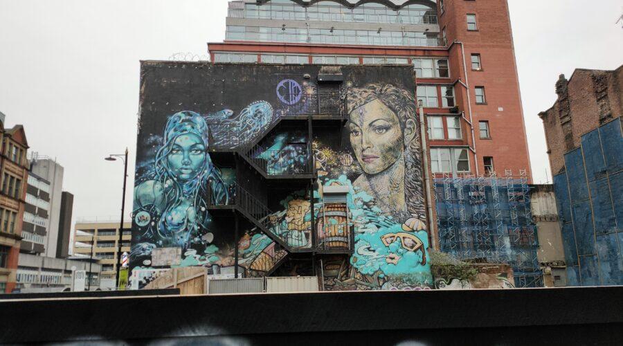 Red Lion Street mural