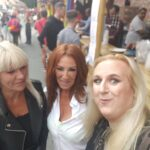 Jane, Lesley and I